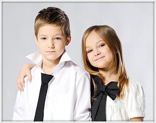 Coupe de cheveux pour enfants à domicile 45
